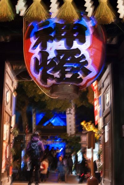 博多ライトアップウォーク 櫛田神社