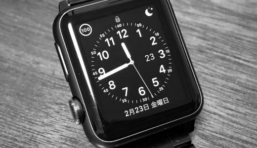 Apple Watchのクラウンの向きは左にできる!